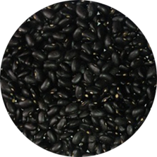 BLACK BEANS HAND PICKED SELECTED